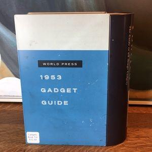 Storage & Organization - Gadget Book Storage Tin